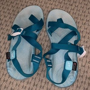 Special edition wave chacos.